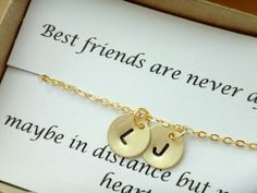 Hey, I found this really awesome Etsy listing at https://www.etsy.com/listing/194511718/2-initial-best-friend-necklace