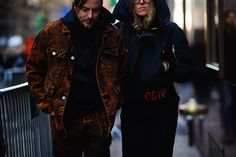 Streetstyle на Неделе моды в Нью-Йорке. Часть 2