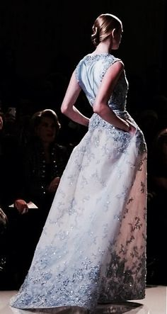 """whore-for-couture: """"notordinaryfashion: """"Elie Saab Haute Couture """" Haute Couture blog :) """""""