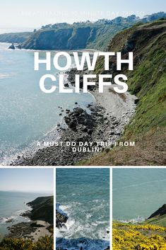 The Howth Cliffs are located northeast of Dublin and have over 10 miles of hiking and walking trails with views of Lambay's Island, Irelands Eye, the village of Howth, and the gorgeous, rocky coastline. While walking you can smell the ocean and overwhelming scent of coconut from the yellow go