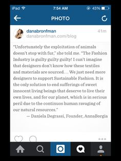 Our Founder thoughts about Cruelty-Free Fashion