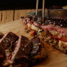 Guy Fieri's Zing Zang Flank Steak Recipe