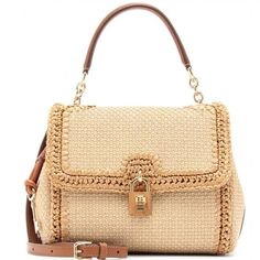 Dolce and Gabbana Borsa Raffia Natural Bag £2200 | eBay