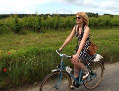 A Vintage Bike Ride In France