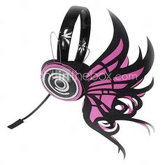 Vocaloid Magnet Swallowtail Butterfly Headphone Cosplay Accessory