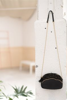 Maroquinerie milo noir - sac - des petits hauts 1