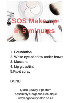 SOS Make-up in 5 minutes Cellulite, Absolutely Gorgeous, Mascara, Anti Aging, Salons, Beauty Hacks, Eyeshadow, Lips