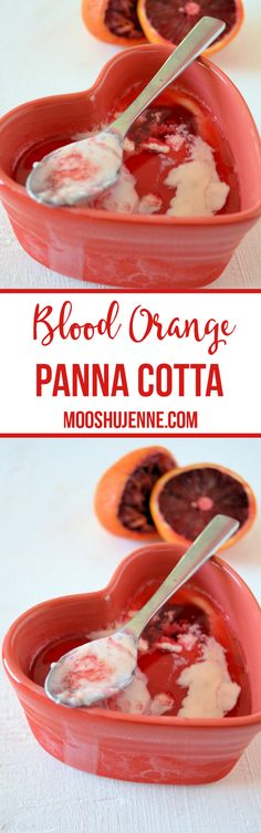 Blood Orange Panna C