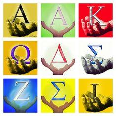 Divine Nine Participants in Stompdown Kappa Alpha Psi Fraternity, Omega Psi Phi, Alpha Kappa Alpha Sorority, Zeta Phi Beta, Delta Sigma Theta, Aka Sorority, Black Fraternities, Divine Nine, Greek Life