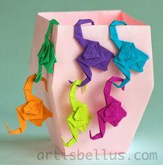 Origami Toys: Monkeys