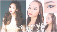 Girls' Generation 'LION HEART' YURI Inspired KPOP Makeup Tutorial♡소녀시대 유...