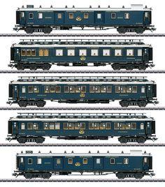 Simplon Orient Express, Car Set, Paint Schemes, Interior Lighting, Trains, Paint Color Schemes, Train