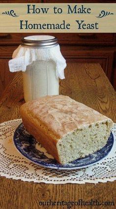 How to make homemade yeast | ourheritageofhealth.com