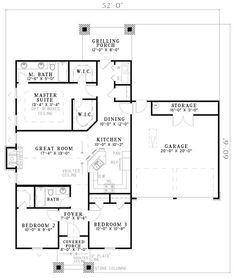First Floor of Plan ID: 29741
