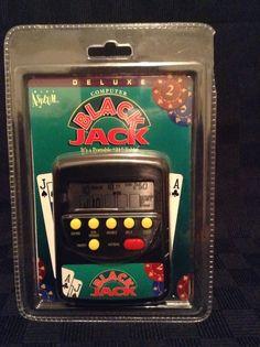 NIP Asylum 1994 Handheld Travel Game Blackjack Game Pocket Casino Bet Gamble #Asylum