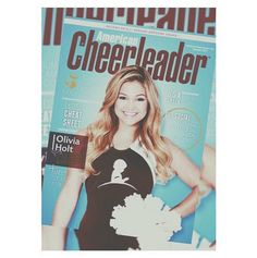 Photo: Olivia Holt On The Cover Of American Cheerleader - Dis411