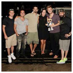 With the Backstreet Boys!!!