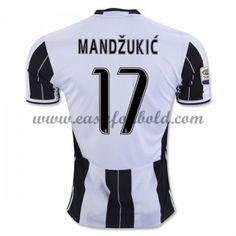 best service 8b9e6 c938f Fodboldtrøjer Series A Juventus 2016-17 Mandzukic 17 Hjemmetrøje Mario,  Klub, Sport