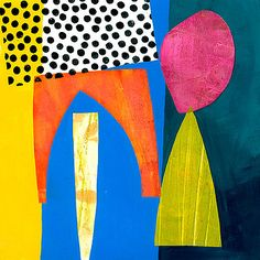 Shapes 2 by Jane Davies