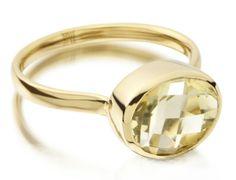 Gp Candy Ring - Green Gold Quartz