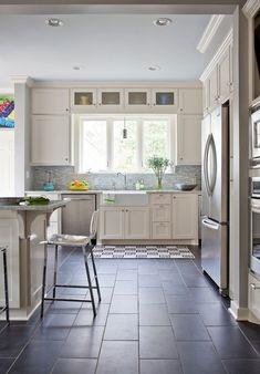 Wooden Kitchen Floor Tile:Black Ceramic Kitchen Floor Tile  Low Price Kitchen Floor Tile by lissandra.villano