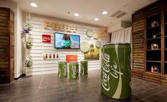 Pop-upstore Coca-Cola