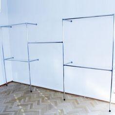 Kleiderständer Kleiderstange Garderobenständer begehbarer Kleiderschrank 320 cm x 200 cm x 40 cm