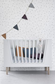 The Done by Deer baby cot converts to accommodate your child's needs and development and will take your tiny one up through the toddler years. The best from the past combined with a modern Scandinavian feel of today – 'little interiors' by Done by Deer is a new line of furniture for the modern nursery designed and made in Denmark.