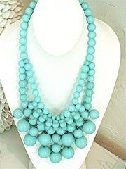 bubble necklace by CJ Laing