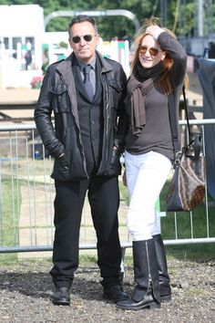 Bruce Springsteen and Patti Scialfa at the Royal Windsor Horse Show 2