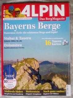 """Alpin!Das Berg Magazin ! """" BAYERN´S  BERGE """" !!Ausgabe:  8 /17!NEU EINGETROFFEN!"""
