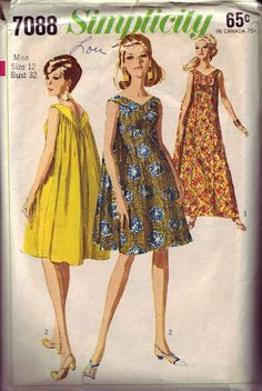 Simplicity 7088  YES!!! I want to wear these!