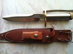 "Randall Knife Model-18, 7.5"" SS blade, Johnson Sheath"