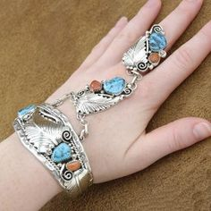 Southwestern Jewelry | Native American Indian Jewelry, handcrafted slave bracelets made of ...