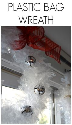 easy plastic bag wreath