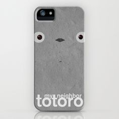 My neighbor Totoro iPhone Case by Fabio Castro - $35.00