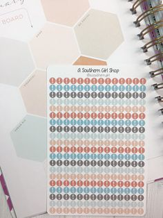 Important! Dots - Neopolitan - Planner Stickers, Inkwell Press, Erin Condren, Kikki K, Traveler's Notebook, Filofax