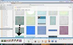 wonderful tutorials for scrapbooking in Picasa.