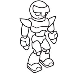 easy robot to draw step by step - Google Search