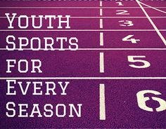 """Check out new work on my @Behance portfolio: """"Youth Sports for Every Season"""" http://be.net/gallery/51228283/Youth-Sports-for-Every-Season"""