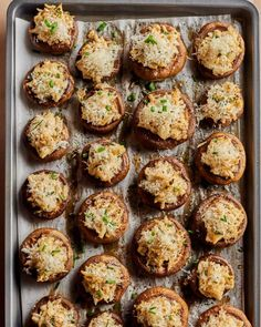 5 Easy 3-Ingredient Sauces for Chicken   Kitchn Garlic Butter Mushrooms, Creamy Mushrooms, Best Mushroom Recipe, Mushroom Recipes, Crab Stuffed Mushrooms, Stuffed Peppers, Miso Butter, Holiday Appetizers, Appetizer Recipes