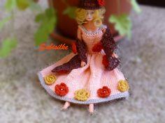 Puppenkleidung - *** Junikate *** Blumenkleid - ein Designerstück von Sabisilke bei DaWanda
