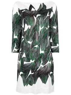 DIANE VON FURSTENBERG Printed Tunic-Dress