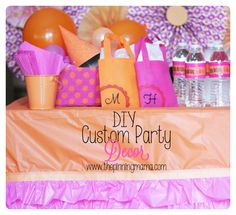 Cutest birthday party and its budget friendly with dollar store items! Via www.thepinningmama.com