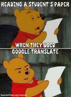 Don't use Google Translate Meme