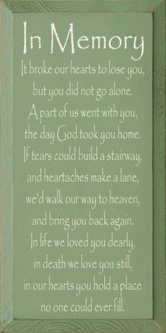 In Loving Memory Sayings   In Loving Memory Dad Quotes image search results