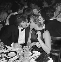 The Kiss, 1955: James Dean and Ursula Andress Go Out on a Date IMAGE: MICHAEL OCHS ARCHIVE/GETTY IMAGES