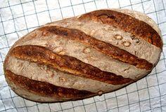 Semolina-Brot mit Brühstück und Saaten/Malzflocken - WST