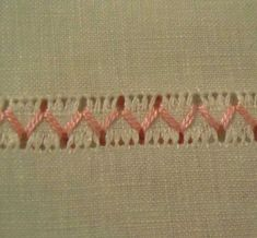 The Pleasure of embroidery: May I've never done drawn thread work but this is lovely and simple. Hardanger Embroidery, Ribbon Embroidery, Cross Stitch Embroidery, Drawn Thread, Thread Work, Embroidery Needles, Embroidery Patterns, Swedish Weaving, Heirloom Sewing