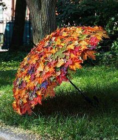 Garten Landschaftsbau Hinterhof Herbstlaub-Umbrella / Herbstlaub-Umbrella, made to measure, use at f Jardin Decor, Ideas Jardin, Deco Floral, Easy Garden, Veg Garden, Upcycled Garden, Garden Tips, Indoor Garden, Garden Crafts
